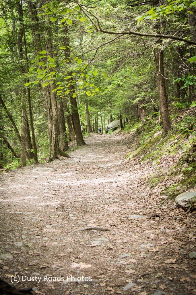 Hiking Trail to Bash Bish Falls