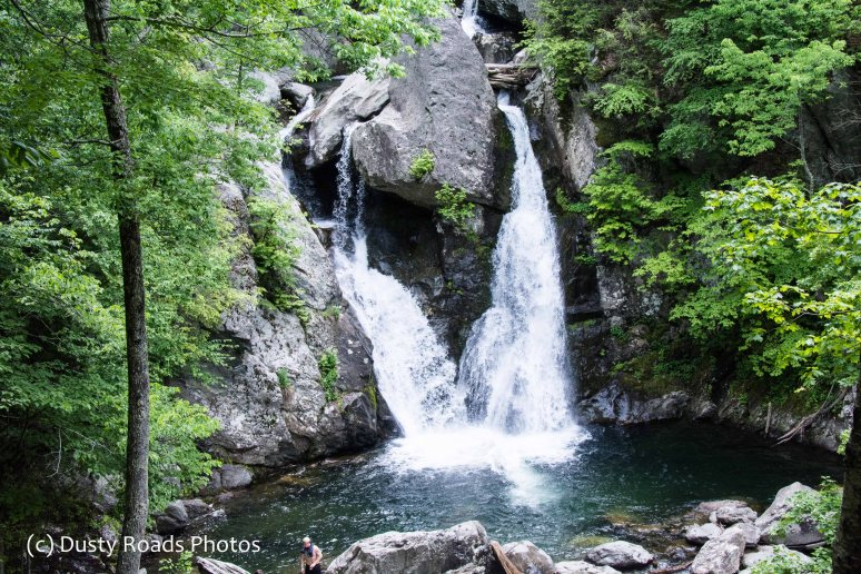 Bash Bish Falls, a Massachusetts Waterfall