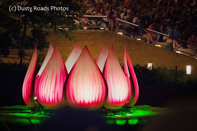 Lotus Flower float