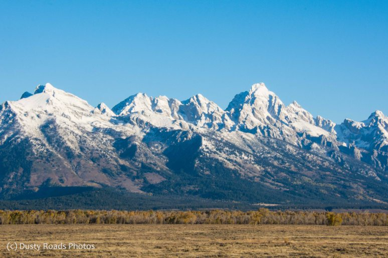 First look at the Grand teton range