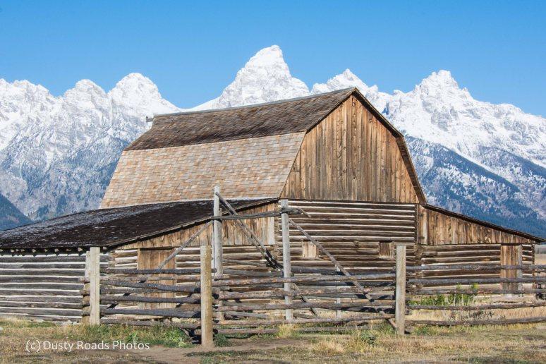Mormon Row Barn, Wyoming