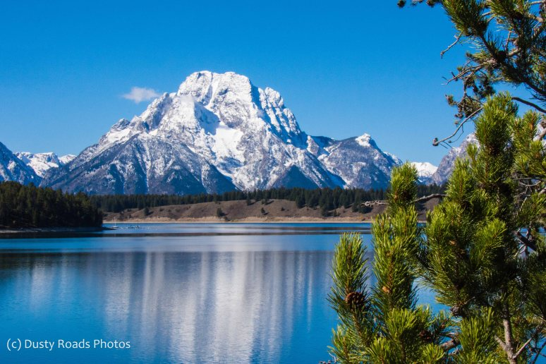 Mount Moran reflected