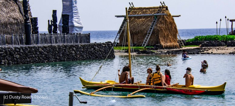Outriggers and Tiki Huts